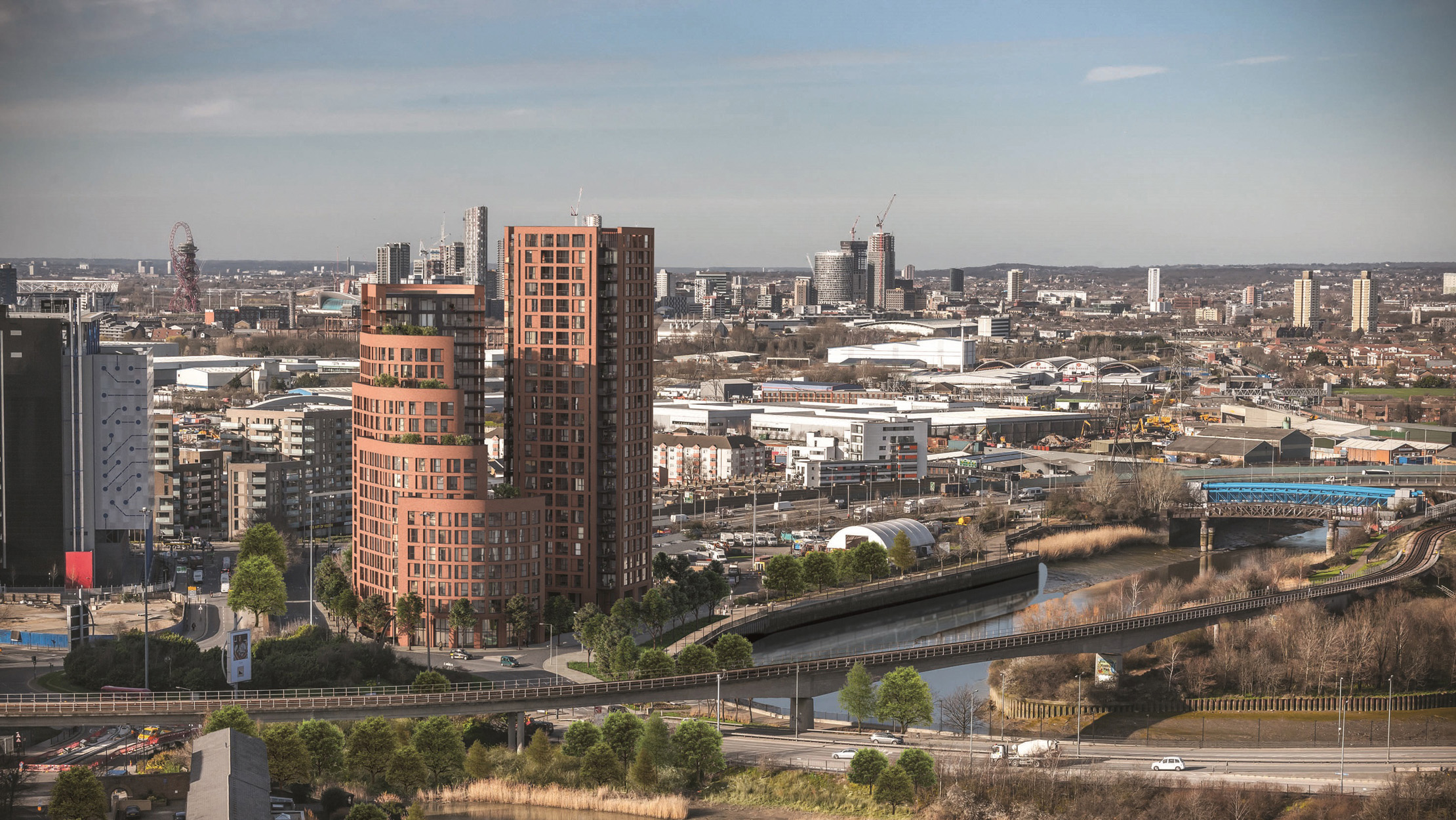 introducing orchard wharf to the london docklands