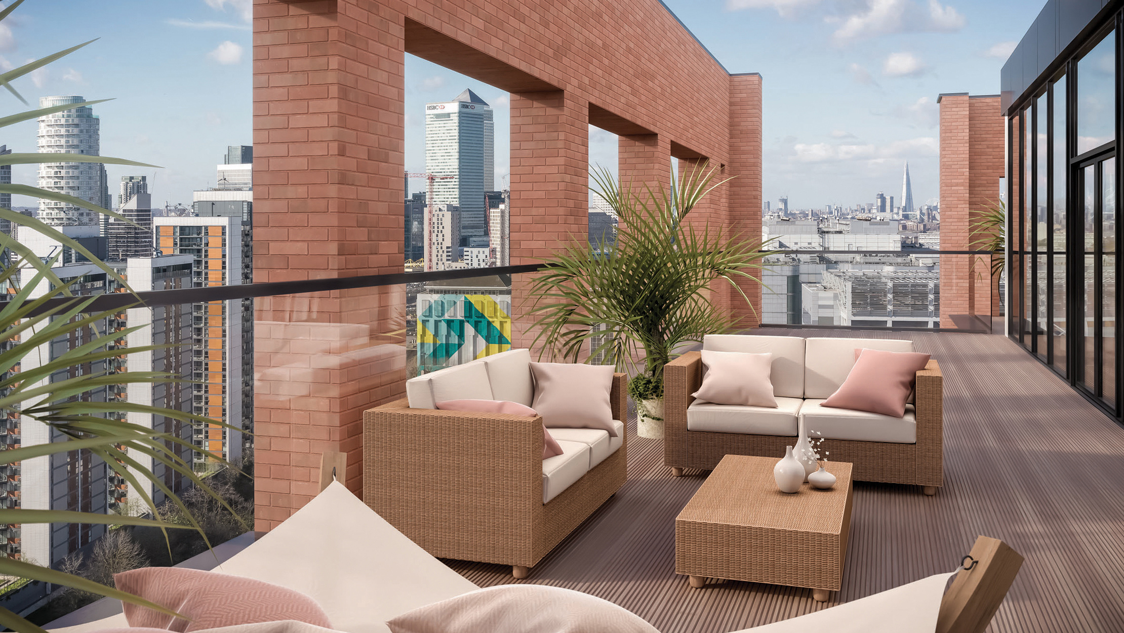 the launch of orchard wharf in the london docklands