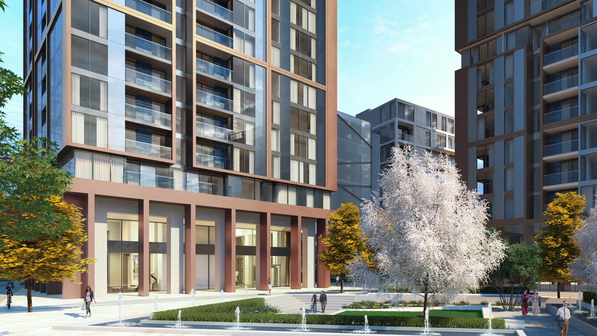 introducing harbour central to the london docklands teaser