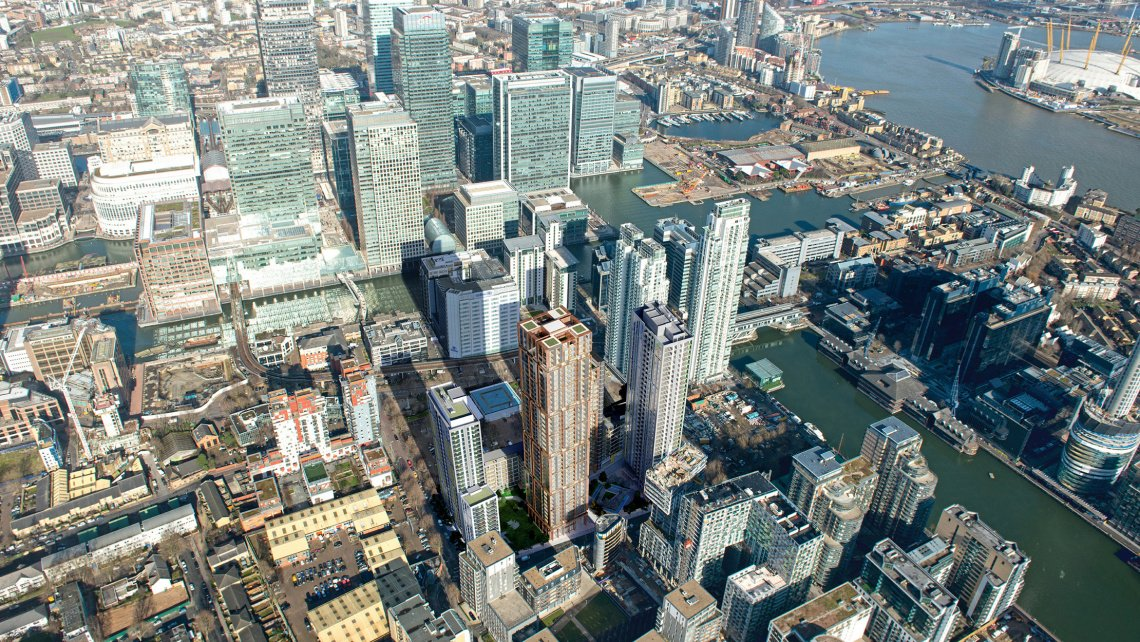 Harbour Central, Docklands, Galliard Homes