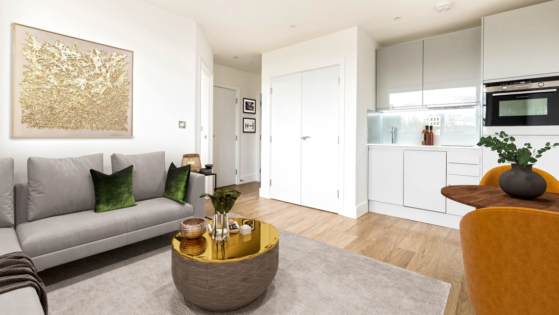 Romford Papermill House Studio Apartment Galliard Homes