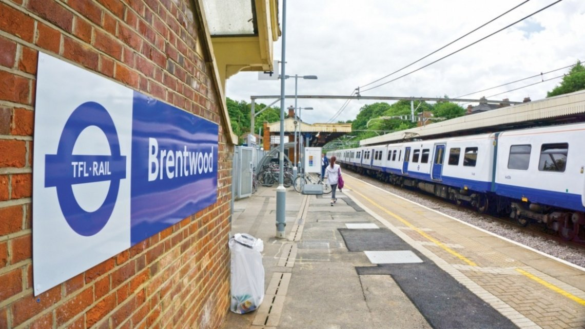 Brentwood, transport, Brentwood station, Essex, Home County, Crossrail