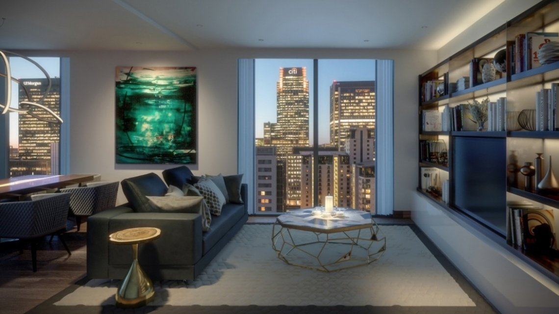 Canary Wharf, London Docklands, Property Development, Galliard Homes