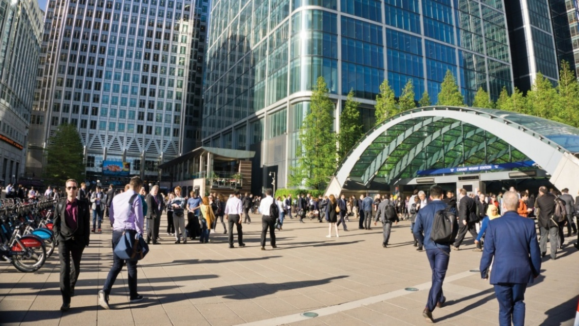 Canary Wharf, Technology, London Docklands, Galliard Homes