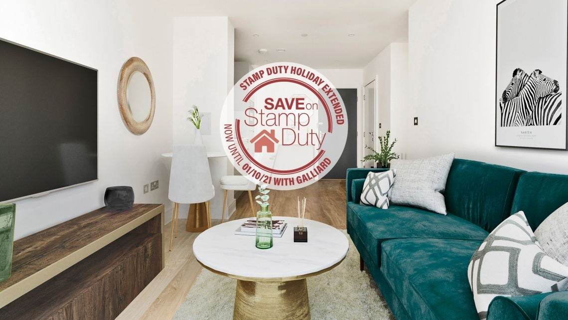 Galliard Homes Extended Stamp Duty Holiday Save Up To £15,000 Ends October 2021