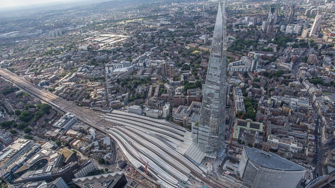London Bridge, Station, Transport, Galliard Homes, Southwark