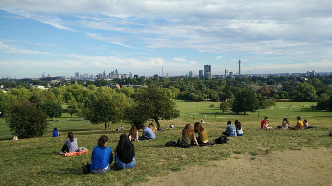 Primrose Hill, London, North London,