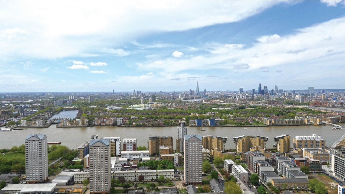 Property, Investment, Riverside, London Docklands, Galliard Homes