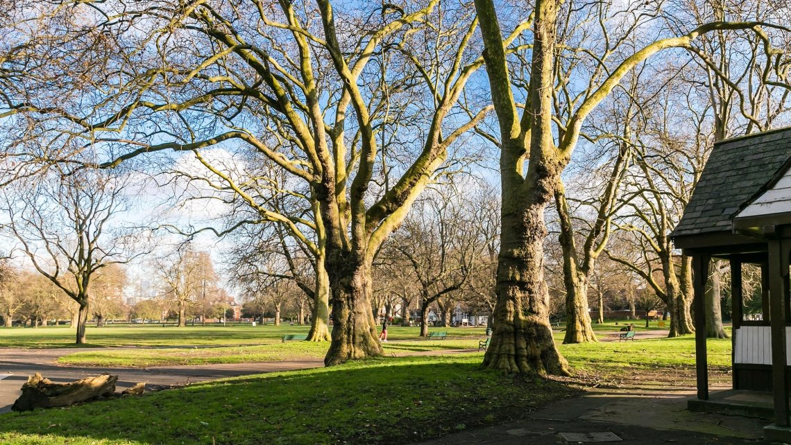 Clapham Common in Wandsworth