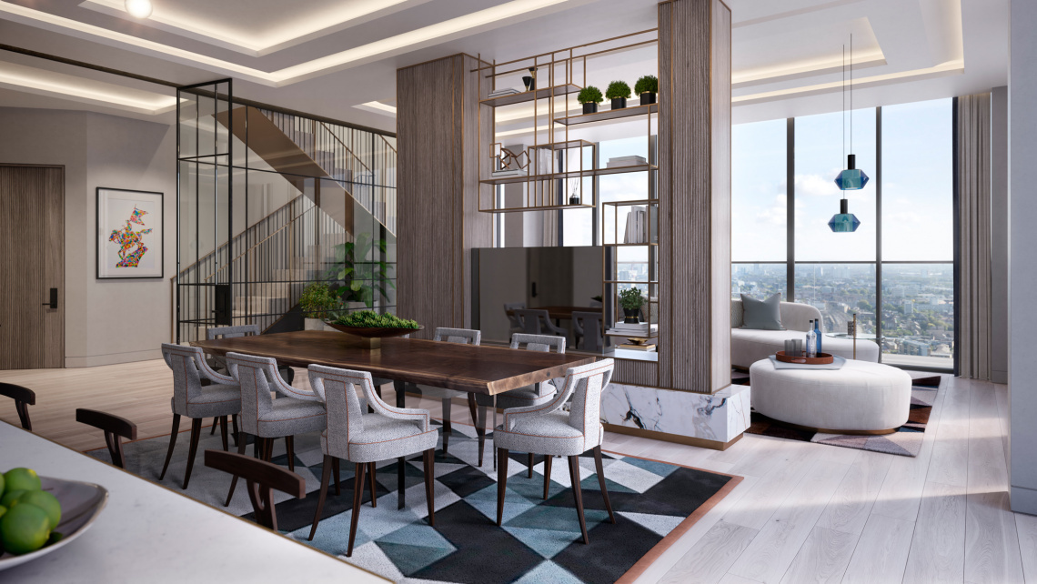 London, Penthouses, Prime Property, Luxury Homes, Residential, Central London, Investment, Galliard Homes