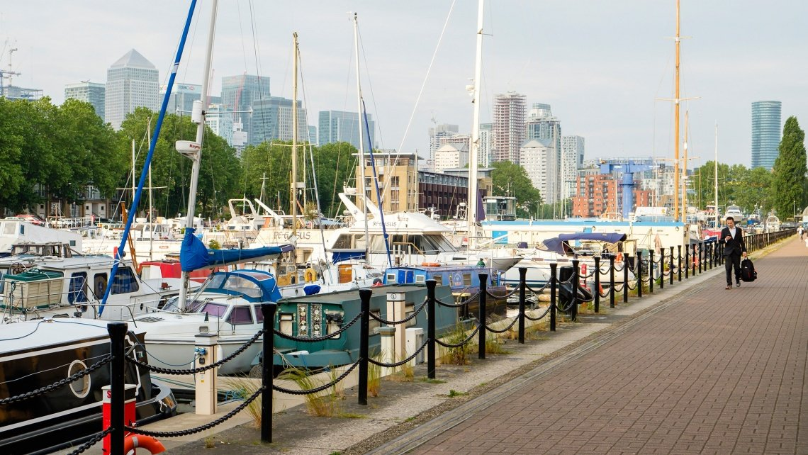 Marine Wharf East, Surrey Quays, Galliard Homes