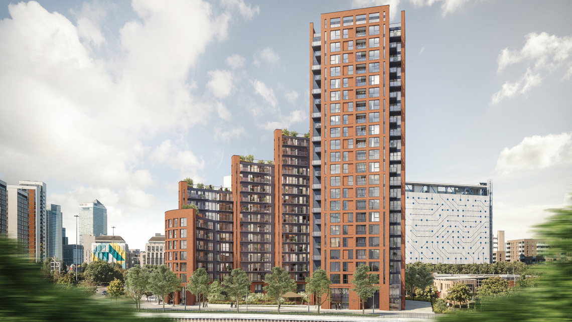 City AM, Orchard Wharf, London Docklands, Galliard Homes