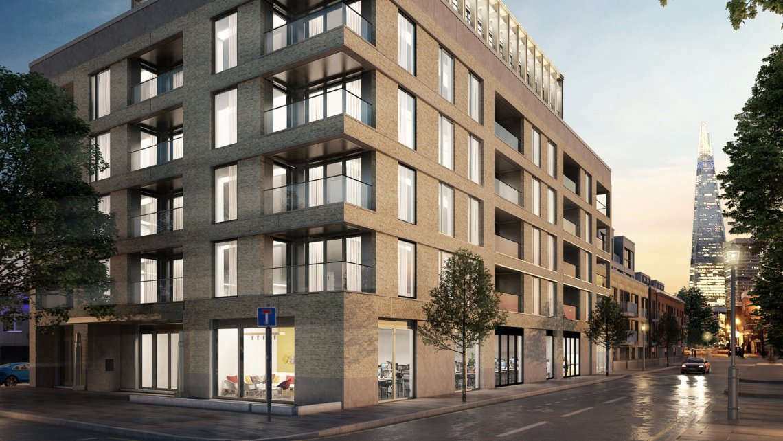 Trilogy, Borough, Evening Standard, Galliard Homes