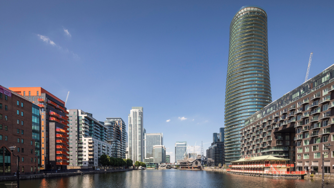 Baltimore Tower, Docklands, Homes and Property, Penthouse, Galliard Homes