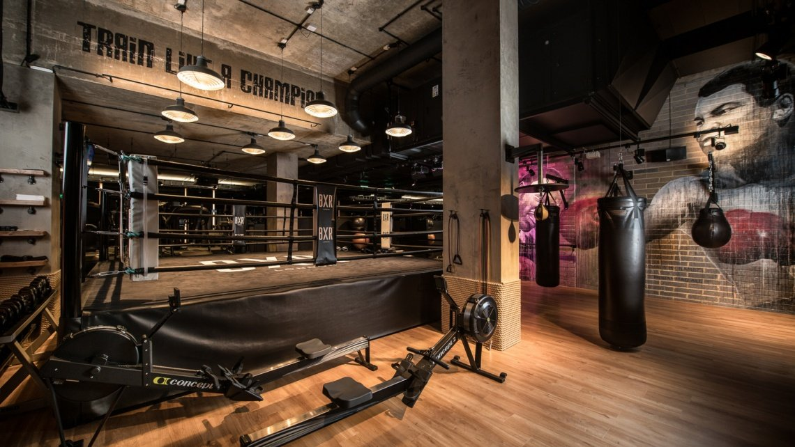 Mirror, Anthony Joshua, BXR, The Chilterns, Marylebone, Boxing Gym, Galliard Homes