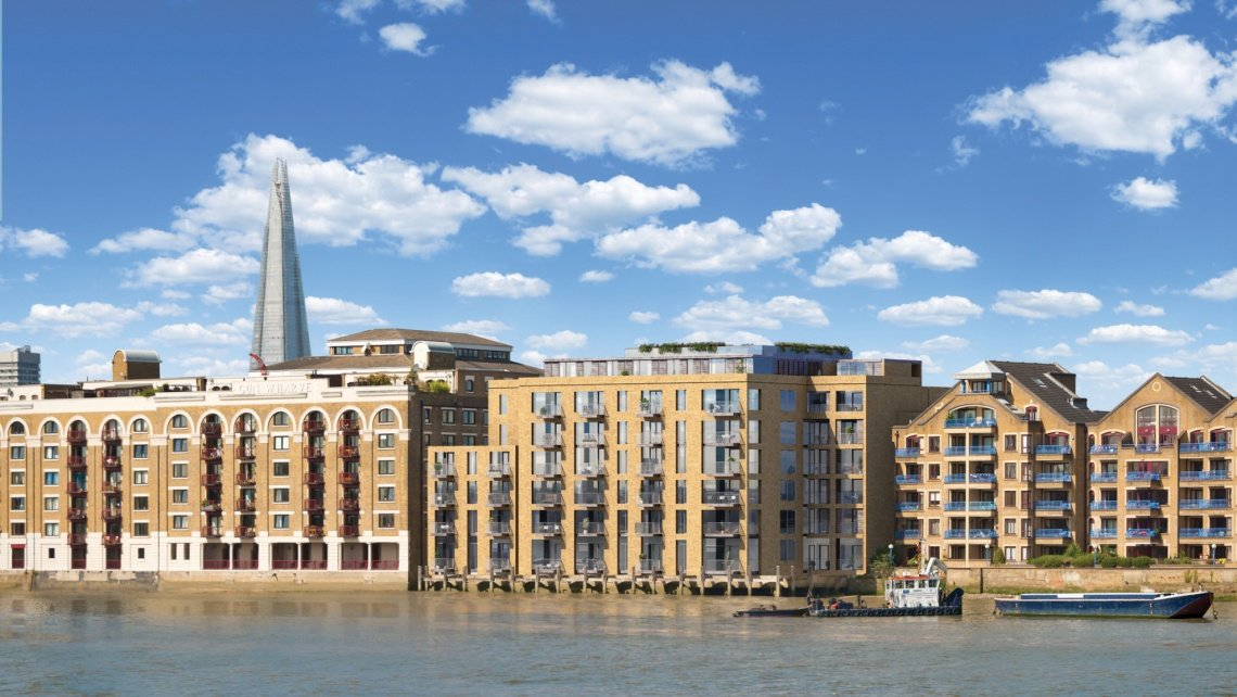 The Wharf, Wapping, Wapping Riverside, Galliard Homes