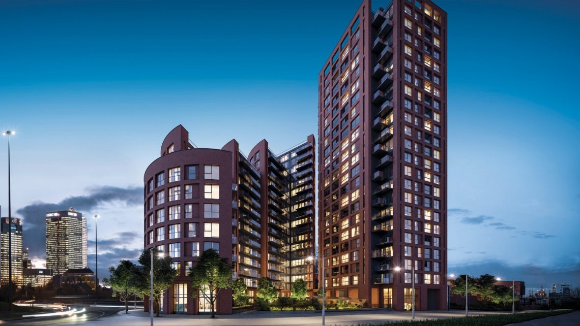 The Wharf, London Docklands, Galliard Homes, Orchard Wharf