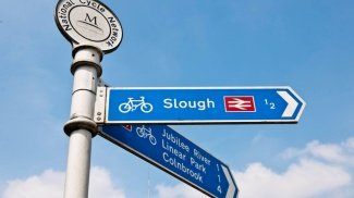 Slough, Trivia, Berkshire, Galliard Homes, Atria, Skyline