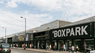 Shoreditch, things to do, Boxpark, East London