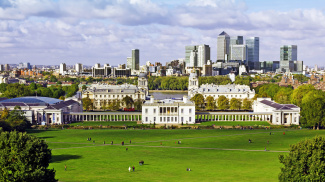 View of Greenwich Palace, ©Galliard Homes.