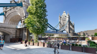 View of Tower Bridge, ©Galliard Homes.