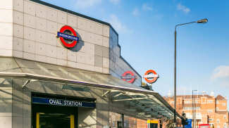 Oval Tube station, ©Galliard Homes.
