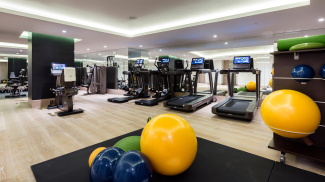 Private gym at The Chilterns, ©Galliard Homes.