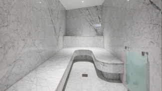 Steam room and spa facility at The Chilterns, ©Galliard Homes.