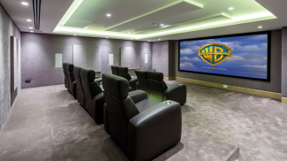 Private cinema at The Chilterns, ©Galliard Homes.