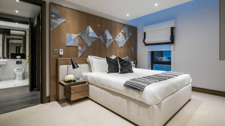 Bedroom at Hanway Gardens, ©Galliard Homes.