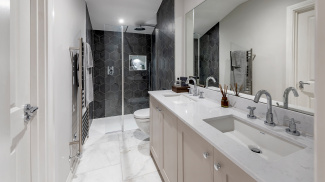 Bathroom at the Hope House show home, ©Acorn Property Group.