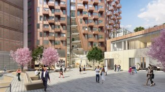 The Stage, Shoreditch, East London, Galliard Homes, Property Week, WeWork