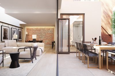 Courtyard at Islington Square, ©Galliard Homes.