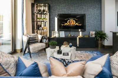 Living area at Hanway Gardens, ©Galliard Homes.