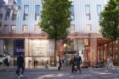 Islington Square, computer generated image intended for illustrative purposes only, ©Galliard Homes.