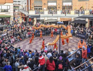 Birmingham Hippodrome, Chinese New Year 2020
