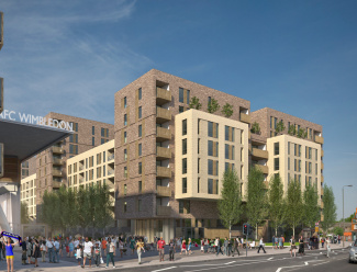 Stadia Three, Wimbledon, Evening Standard, Galliard Homes